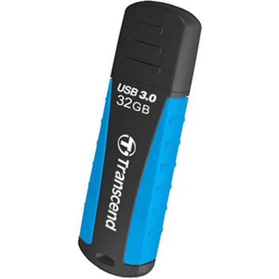 USB Flash Transcend JetFlash 810 32GB  Black-Blue (TS32GJF810)