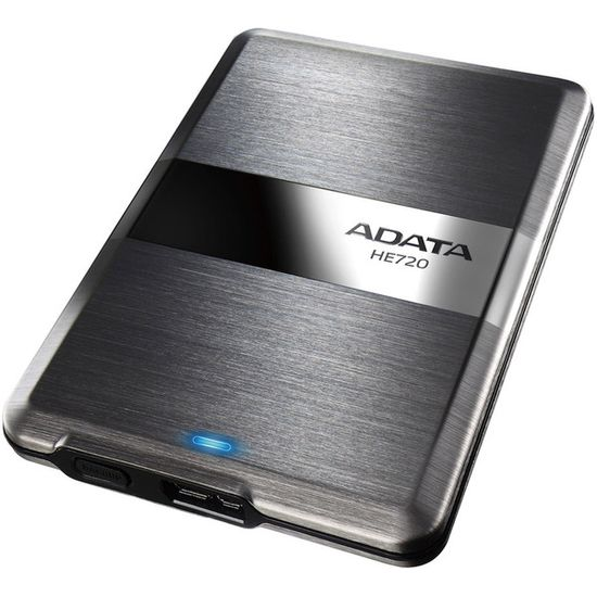 Внешний жесткий диск A-Data DashDrive Elite HE720 500GB Titanium (AHE720-500GU3-CTI)