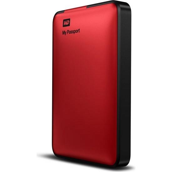 Внешний жесткий диск WD My Passport 1TB Red (WDBEMM0010BRD)