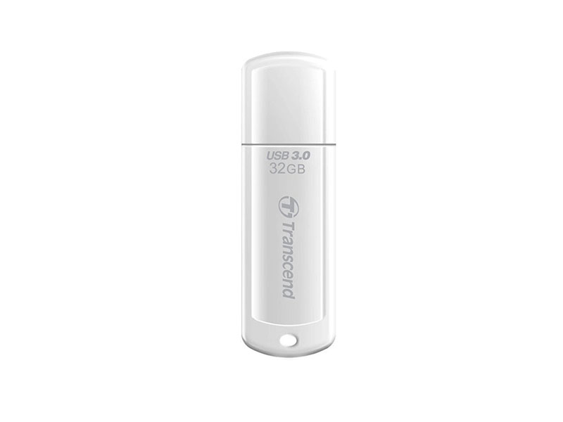 USB Flash Transcend JetFlash 730 32GB White (TS32GJF730)