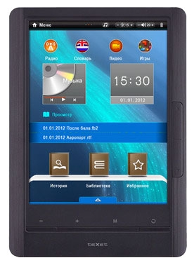 Электронная книга teXet TB-770HD - Электронные книги - Цена: 75.08 р.