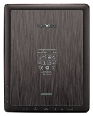 Электронная книга teXet TB-890HD - Электронные книги - Цена: 96.52 р.