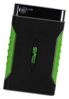 Внешний жесткий диск Silicon Power Armor A15 500GB (SP500GBPHDA15S3K) - Внешние жесткие диски - Цена: 102.22 р.