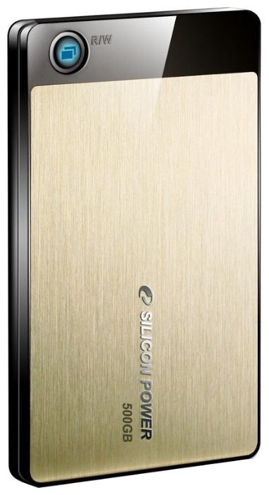 Внешний жесткий диск Silicon Power Armor A50 500GB (SP500GBPHDA50S2G) - Внешние жесткие диски - Цена: 60.81 р.