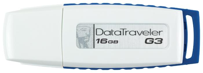 USB Flash Kingston DataTraveler G3 16GB (DTIG3/16GB) - USB Flash - Цена: 17.55 р.