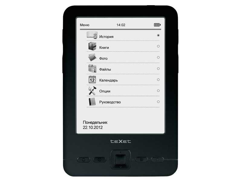 Электронная книга teXet TB-436