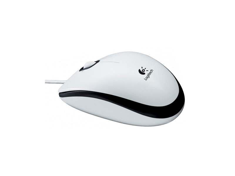 Мышь Logitech Mouse M100 White (910-001605)