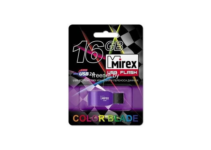 USB Flash Mirex RACER VIOLET 16GB (13600-FMURVI16)