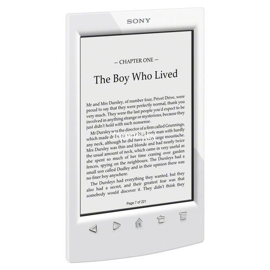 Электронная книга Sony PRS-T2BC White