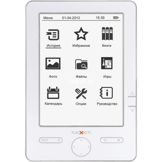 Электронная книга TeXet TB-506 White