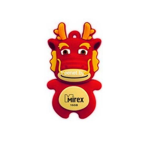 USB Flash USB Flash Mirex DRAGON 16GB RED (13600-KIDDAR16) купить в Минске по цене: 17.6 р.