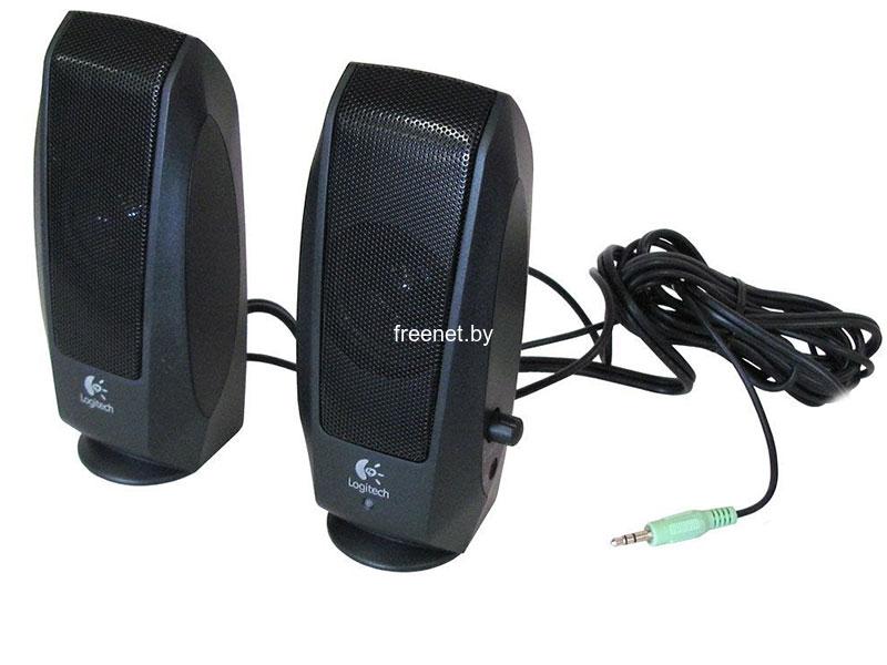 Акустическая система Logitech S120 Black купить с доставкой — FREENET.BY