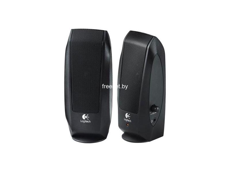 Мультимедиа акустика Акустическая система Logitech S120 Black купить в Минске по цене: 30.21 р.