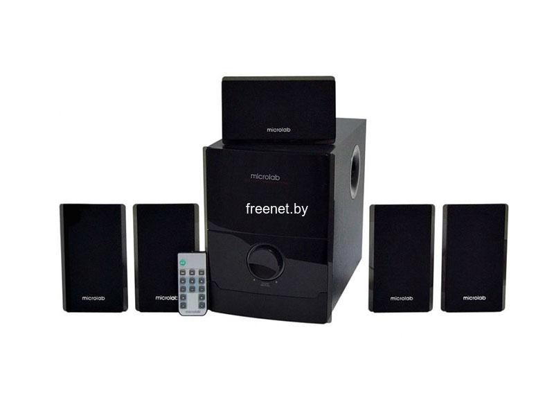 Мультимедиа акустика Акустическая система Microlab M-500 5.1 купить в Минске по цене: 149.72 р.