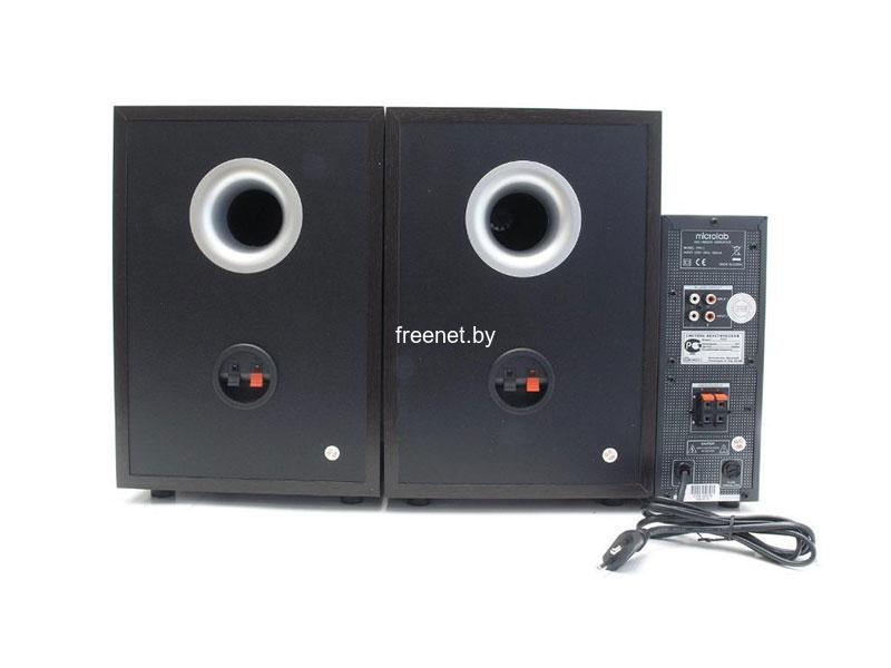 Фото Акустическая система Microlab Pro 2 Dark Wood купить в интернет магазине — FREENET.BY