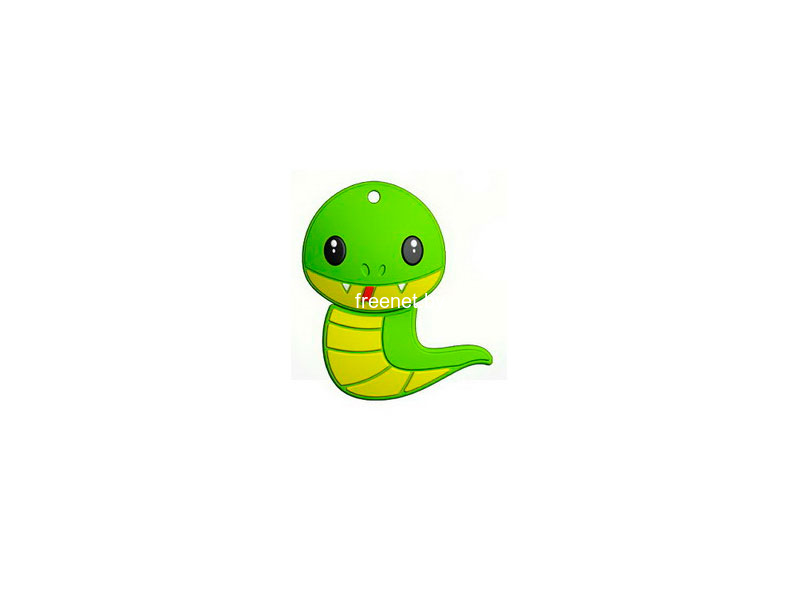 USB Flash Mirex 16GB SNAKE GREEN (13600-KIDSNG16) купить с доставкой — FREENET.BY
