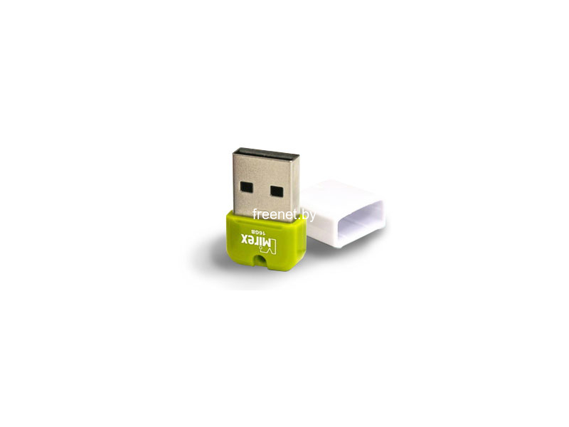 USB Flash Mirex Arton 16GB Green (13600-FMUAGR16)