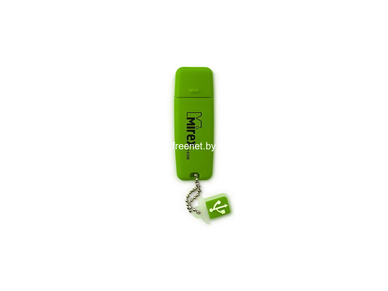 USB Flash USB Flash Mirex Chromatic 16GB Green (13600-FMUCHG16) купить в Минске по цене: 20.17 р.