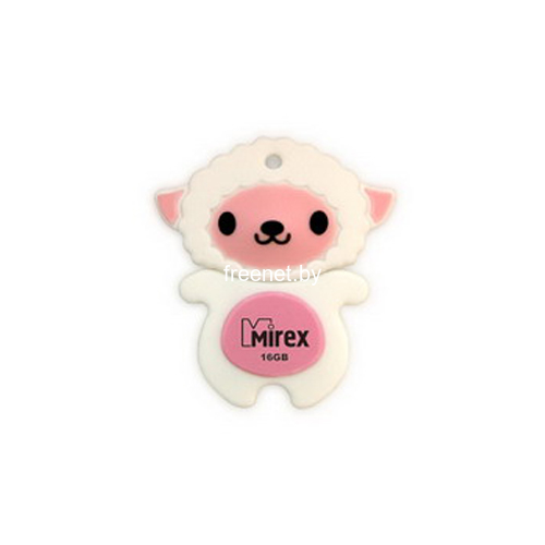 USB Flash USB Flash Mirex 16GB SHEEP PINK (13600-KIDSHP16) купить в Минске по цене: 17.6 р.