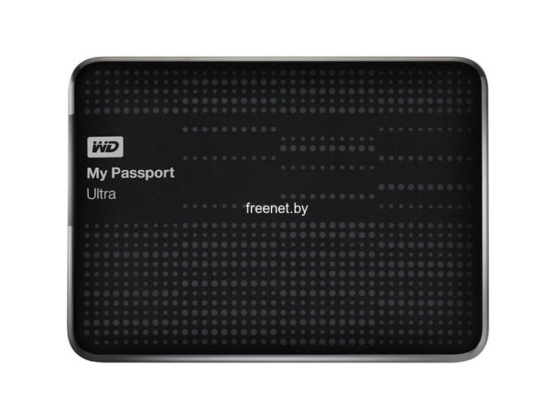 Внешний жесткий диск Western Digital My Passport Ultra 1TB Black (WDBJNZ0010BBK)
