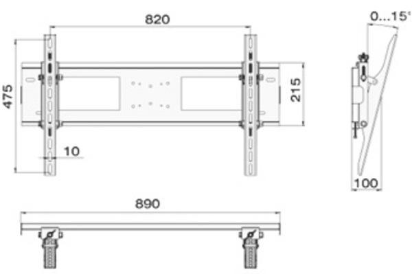 Кронштейн Electriclight КБ-01-16-У купить в Минске с доставкой — FREENET.BY