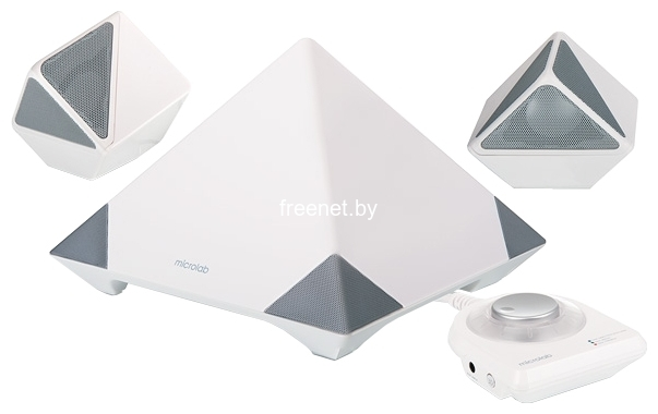 Microlab A6352 2.1 White купить с доставкой — FREENET.BY