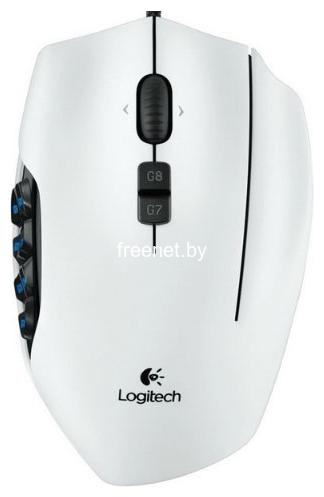 Мыши Игровая мышь Logitech G600 MMO Gaming Mouse White купить в Минске по цене: 107.82 р.