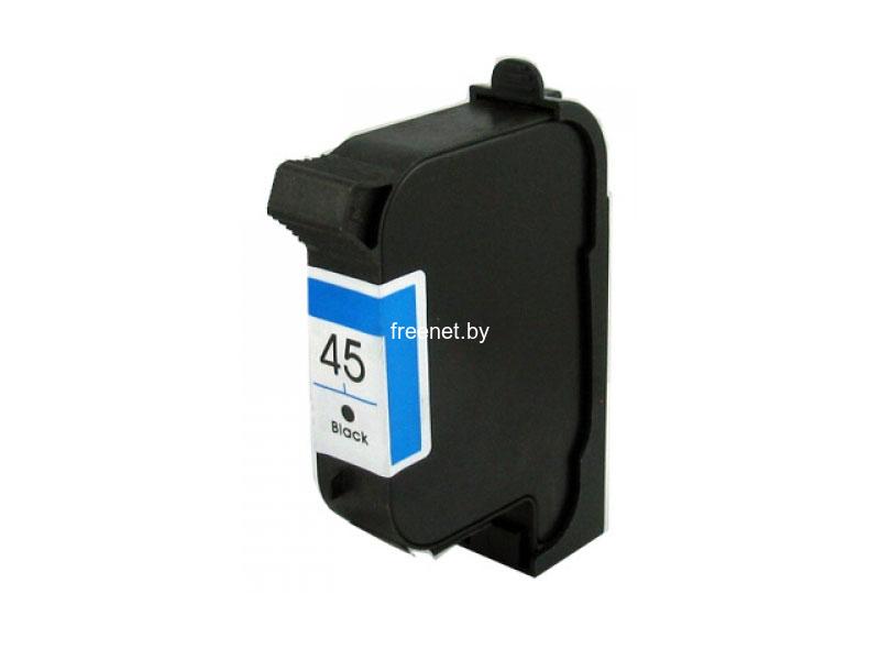 Картриджи для принтеров и МФУ HP 45 Black (51645A) купить в Минске по цене: 57.68 р.