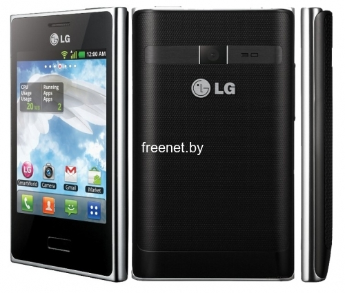 Смартфон LG E405 Optimus L3 Dual Black