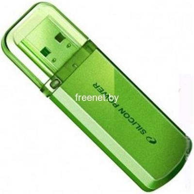 Фото USB Flash Silicon Power Helios 101 4GB Green (SP004GBUF2101V1N) купить в интернет магазине — FREENET.BY