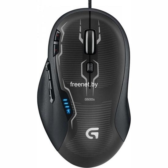 Фото Игровая мышь Logitech G500s Laser Gaming Mouse купить в интернет магазине — FREENET.BY