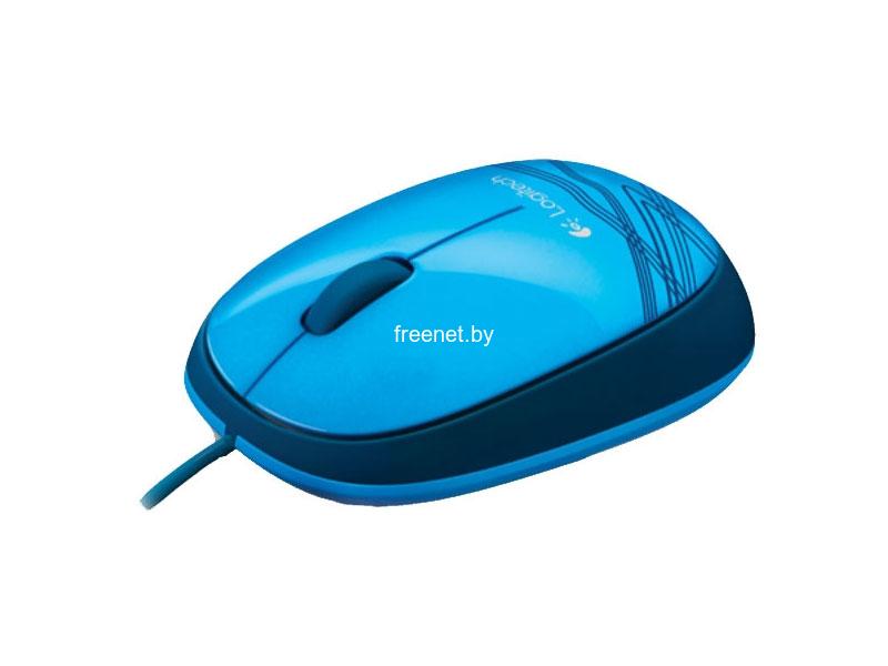 Фото Мышь Logitech M105 Blue купить в интернет магазине — FREENET.BY