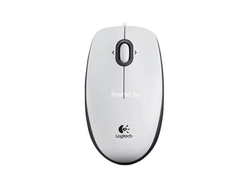 Фото Logitech Mouse M100 White (910-001605) купить в интернет магазине — FREENET.BY