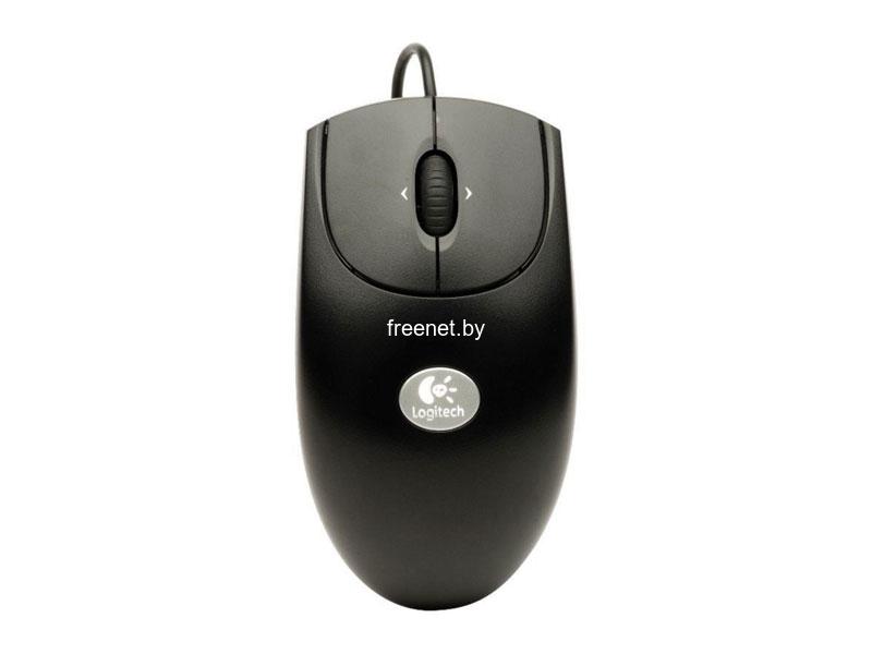 Мышь Logitech RX250 Optical Mouse Black USB + PS/2