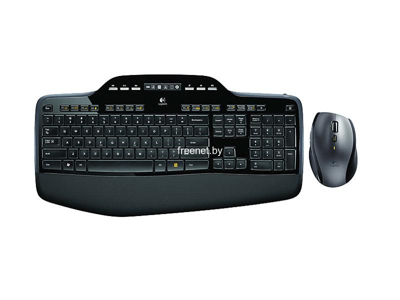 Комплект клавиатура + мышь Logitech Wireless Desktop MK710 купить в Минске с доставкой — FREENET.BY