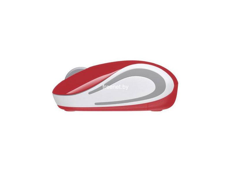 Фото Logitech Wireless Mini Mouse M187 Red купить в интернет магазине — FREENET.BY