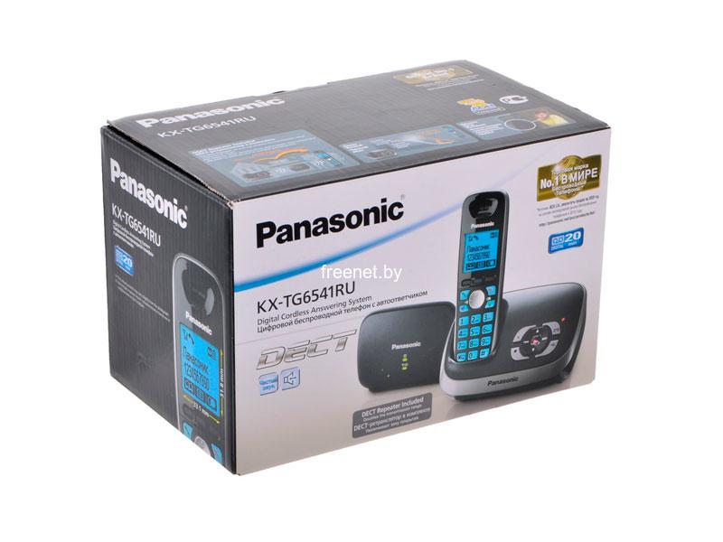 Фото Радиотелефон Panasonic KX-TG6541RUB купить в интернет магазине — FREENET.BY