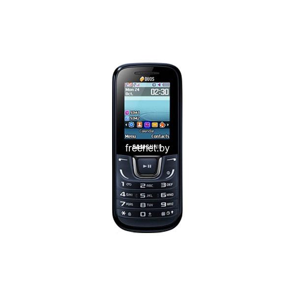 Фото Samsung GT-E1282T Blue Black купить в интернет магазине — FREENET.BY