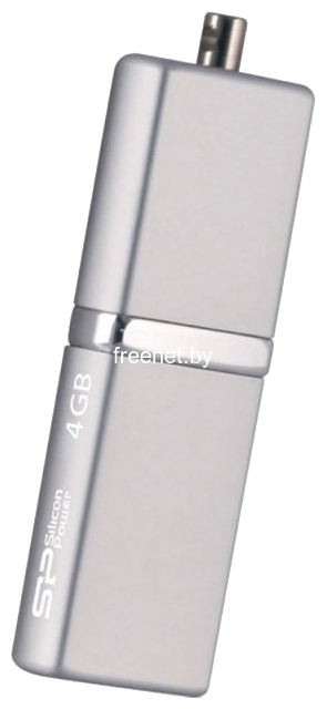 Фото USB Flash Silicon Power LuxMini 710 4GB Silver (SP004GBUF2710V1S) купить в интернет магазине — FREENET.BY