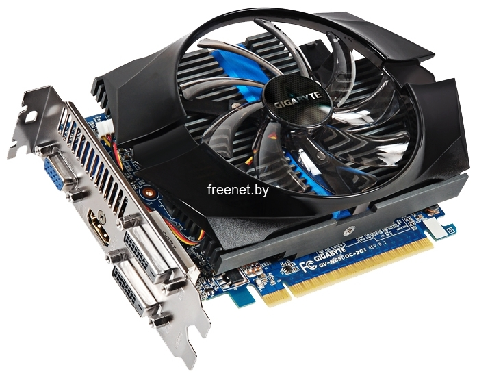 Фото GIGABYTE GeForce GTX 650 2GB GDDR5 (GV-N650OC-2GI) купить в интернет магазине — FREENET.BY