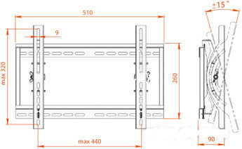 Кронштейн Electriclight КБ-01-44 купить в Минске с доставкой — FREENET.BY