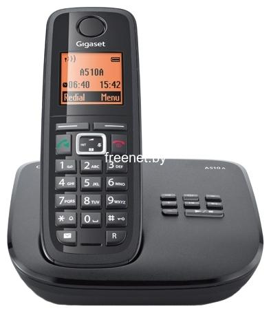 Фото Радиотелефон Gigaset A510A Black купить в интернет магазине — FREENET.BY