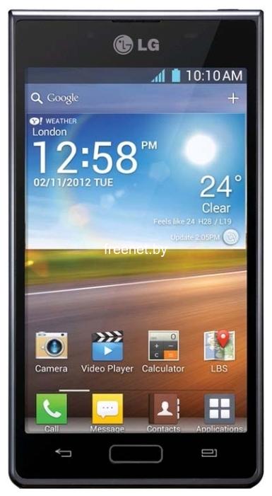 LG P705 Optimus L7 Black купить в Минске с доставкой — FREENET.BY