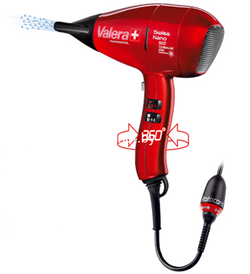 Фото Фен Valera Swiss Nano 9200 Red Rotocord (SN 9200T RC) купить в интернет магазине — FREENET.BY