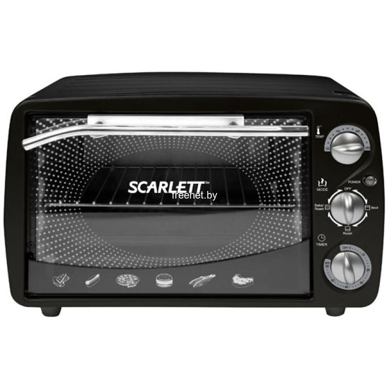 Фото Ростеры (мини-печи) Scarlett SC-099 Black купить в интернет магазине — FREENET.BY