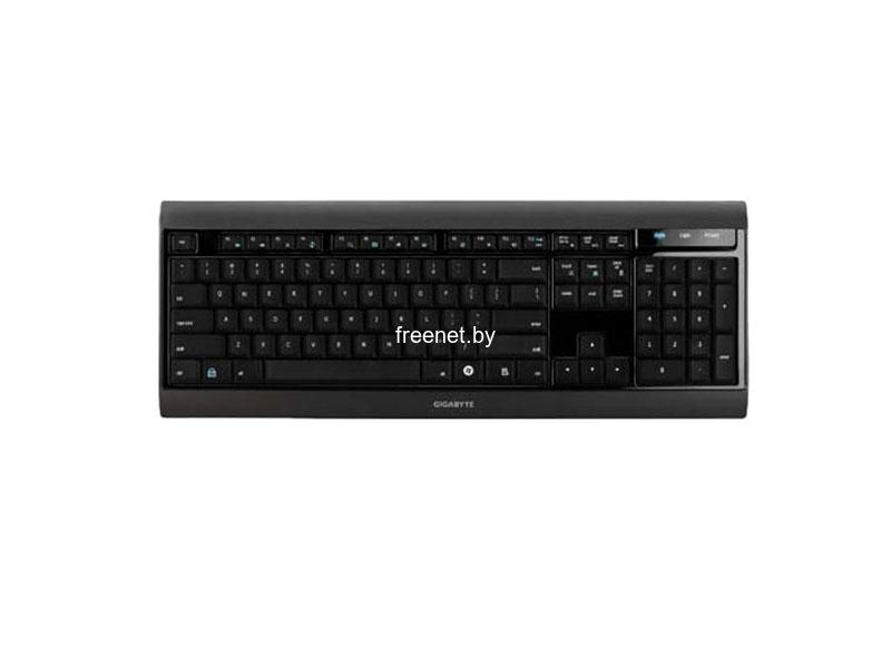 Фото Клавиатура GIGABYTE GK-K7100 Black купить в интернет магазине — FREENET.BY