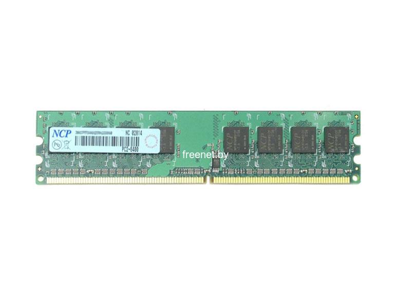 Фото Оперативная память NCP 2GB DDR2-800 DIMM PC2-6400 (NCPT8AUDR-25M88) купить в интернет магазине — FREENET.BY