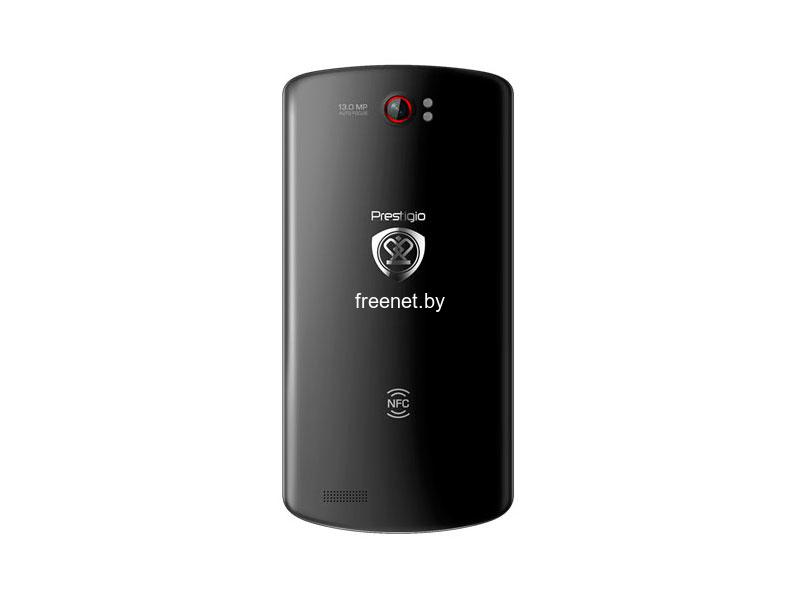 Фото Смартфон PRESTIGIO MultiPhone PАP7500 Black купить в интернет магазине — FREENET.BY