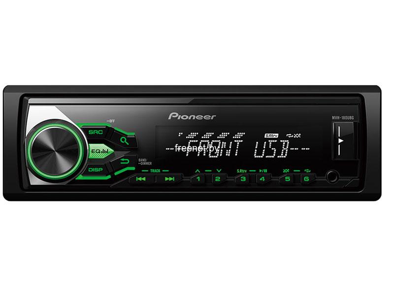 Фото USB-проигрыватель Pioneer MVH-180UBG купить в интернет магазине — FREENET.BY