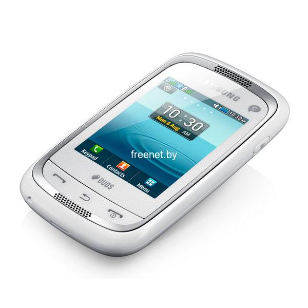 Фото Samsung Champ Neo DUOS GT-C3262 Ceramic White купить в интернет магазине — FREENET.BY
